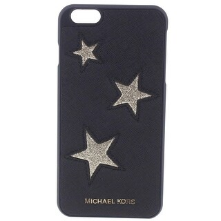 MICHAEL Michael Kors Womens Cell Phone Case Leather Stars
