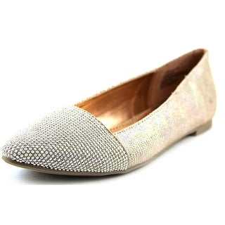 Material Girl Mastor Pointed Toe Canvas Flats