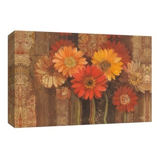"PTM Images 9-153912  PTM Canvas Collection 8"" x 10"" - ""Bold Gerberas I"" Giclee Flowers Art Print on Canvas"