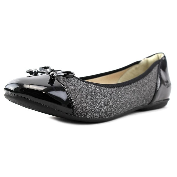 Stretchies Claire  W Cap Toe Synthetic  Flats
