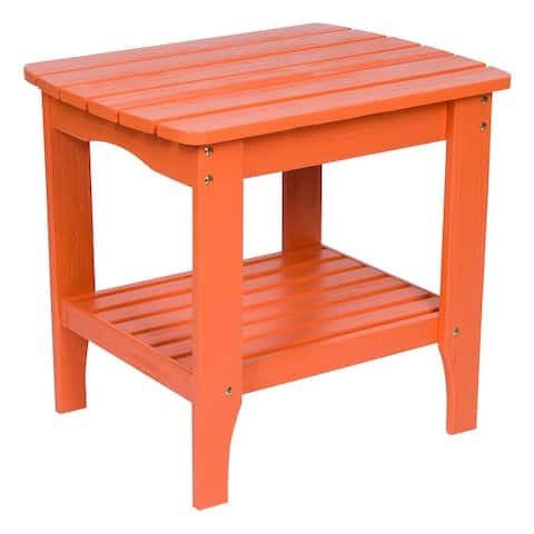 30 inch Rectangular Side Table with HYDRO-TEX finish