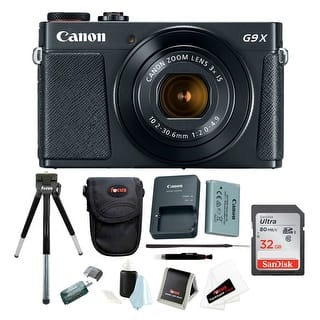 Canon Powershot G9 X Mark II Digital Camera with 32GB Card