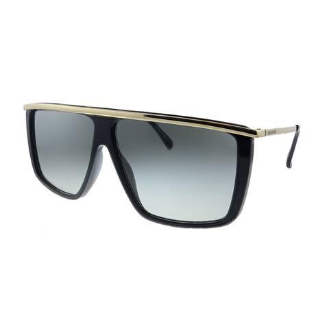 Givenchy GV 7146/G/S 2M2 9O Womens Black Gold Frame Grey Gradient Lens Sunglasses