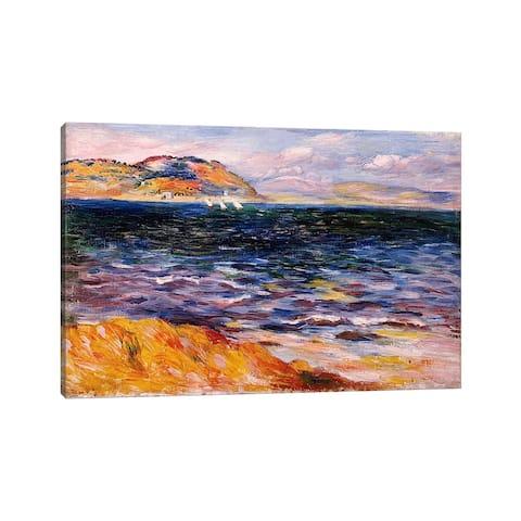"""iCanvas """"Bordighera, c.1888 """" by Pierre-Auguste Renoir Canvas Print"""