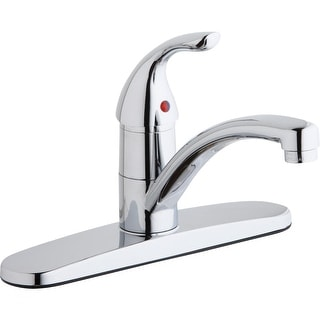 Elkay LK1000  Everyday 1.5/2.2 GPM Deck Mounted Kitchen Faucet with Escutcheon - Chrome