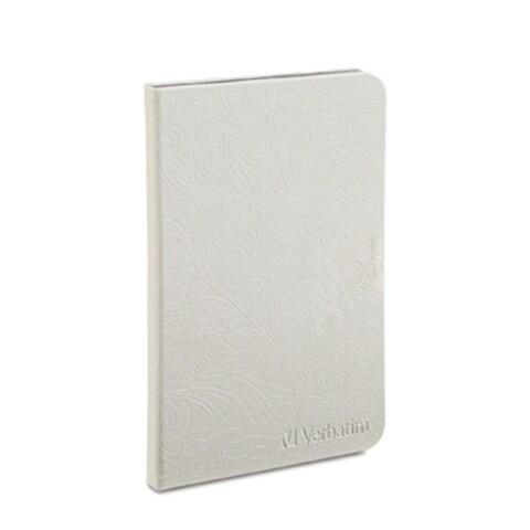 "Verbatim Folio Case for Kindle Fire HD 7"", 98076, 2012\Second Generation, Pearl White"