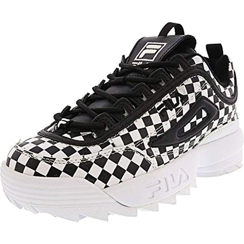 Disruptor Ii Sneaker, Black Checkered