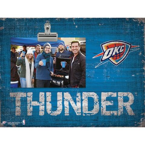 Oklahoma City Thunder Clip Frame