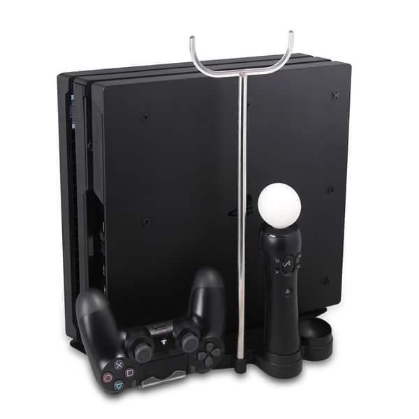 Shop AGPtek Multifunctional PS4 Pro Slim Stand 8 Controller
