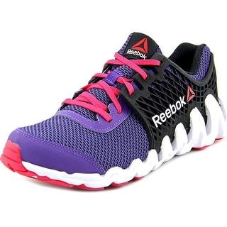 Reebok Zigtech Big N Fast Round Toe Synthetic Running Shoe