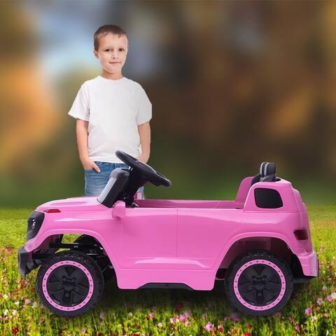 "LEADZM LZ-910 Electric Car Single drive Children Car w/ 35W*1 6V7AH*1 - 7'6"" x 9'6"" - 7'6"" x 9'6"""