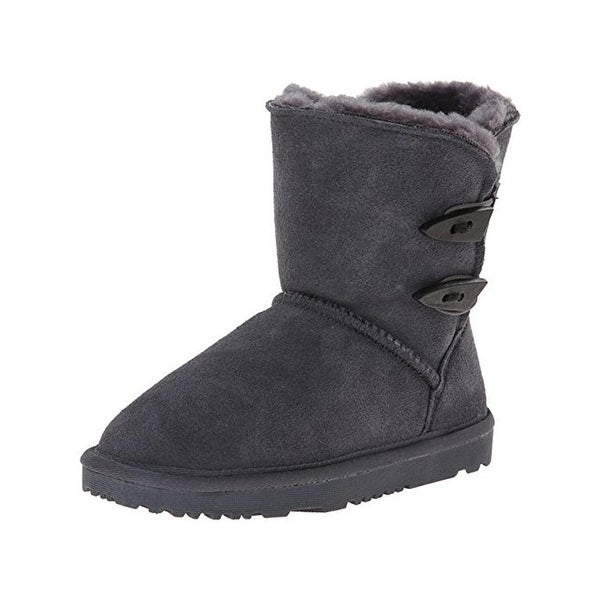 Aussie Merino Girls Jill Booties Suede