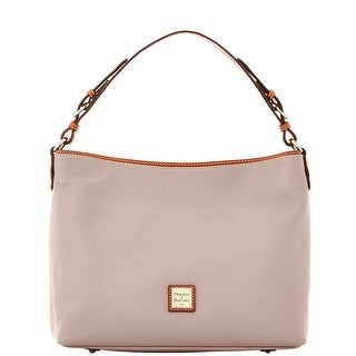 Dooney & Bourke Pebble Grain Large Courtney Sac (Introduced by Dooney & Bourke at $298 in Sep 2016) - Oyster