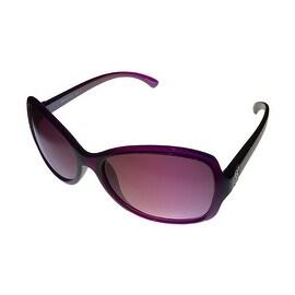Esprit Womens Sunglass 19366 544 Violet Square Fashion Plastic, Violet Lens