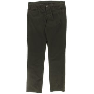 Hardy Amies Mens Trouser Pants Twill Flat Front - 36