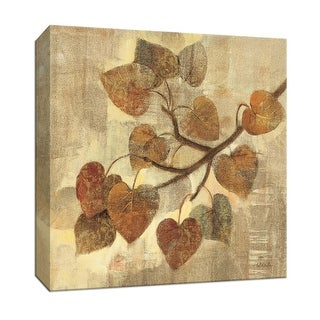 """PTM Images 9-152371  PTM Canvas Collection 12"""" x 12"""" - """"Aspen"""" Giclee Abstract Art Print on Canvas"""