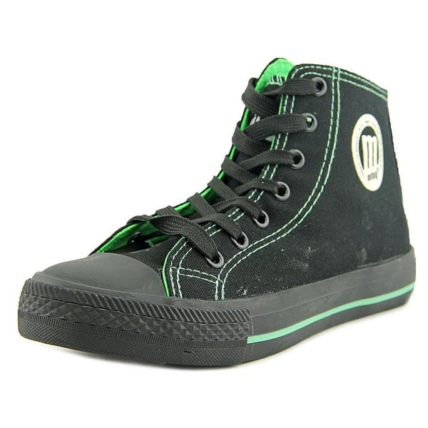 MTNG 13992 Women Canvas Black Fashion Sneakers