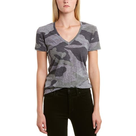Monrow Oversized Camo Relaxed T-Shirt