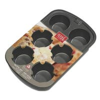 """Good Cook 04030 6 Cup Muffin Pan, 2-3/4"""""""