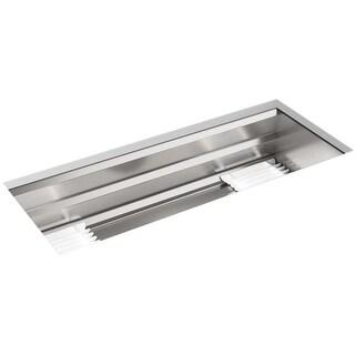 "Kohler K-23652 Prolific 44"" Undermount Single Bowl Stainless Steel Kitchen Sink - STAINLESS STEEL"