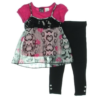 Pogo Club 3PC Toddler Pant Outfit - 2T
