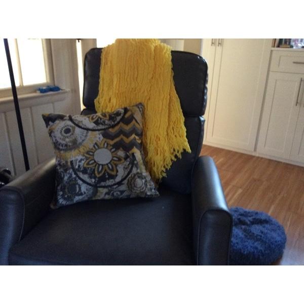 Shop Charlotte Acrylic Ruffle Throw Free Shipping On Orders Over Extraordinary Charlotte Ruffled Throw Blanket