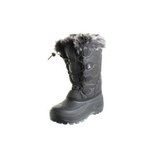 Kamik Girls Snow Gypsy Faux Fur Snow Boots