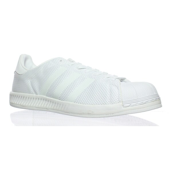 ac24b78cb Shop Adidas Mens Superstar Bounce White Fashion Sneaker Size 11.5 ...