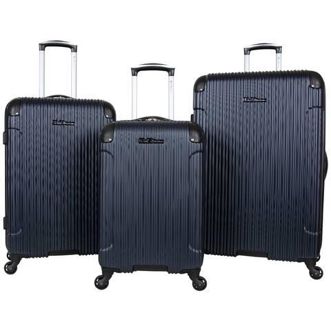 """Ben Sherman 'Charlton Bay' 3-Piece 20""""/24""""/28"""" Lightweight Hardside ABS 4-Wheel Spinner Luggage Set"""