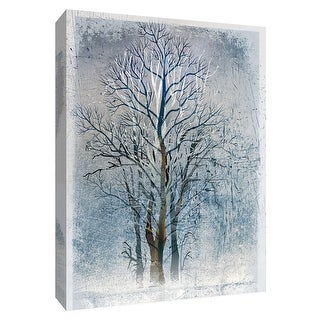 """PTM Images 9-148470  PTM Canvas Collection 10"""" x 8"""" - """"Silver Tree I"""" Giclee Trees Art Print on Canvas"""