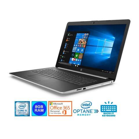 HP 17-BY0028 17.3 HD+ WLED Core i5-8250U 8GB 1TB HDD (Refurbished)