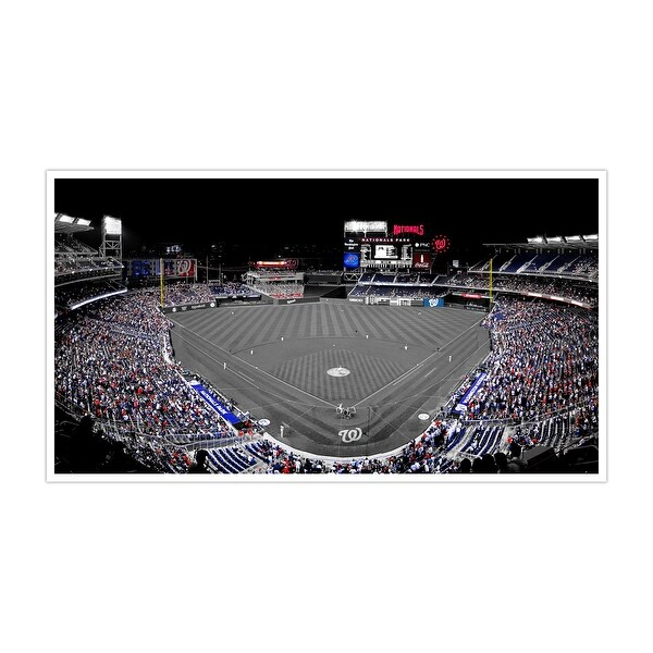 Washington-Nationals Park-Touch of Color Baseball Ballparks-24x14 Poster ToC