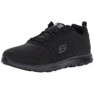 Skechers for Work Women's Ghenter Work Shoe, Black