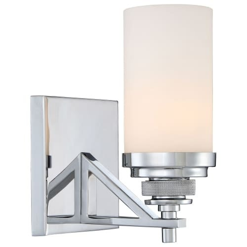 Minka Lavery 2311-77 1 Light Bathroom Sconce from the Brushcreek Collection