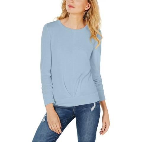I-N-C Womens Pleated Sweatshirt