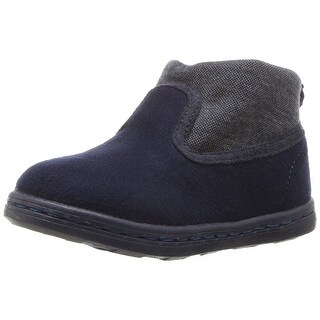 Hanna Andersson Kids' Girls' Tekla Pull Fashion Boot, Navy, Size 5 M US Toddler - 5 m us toddler