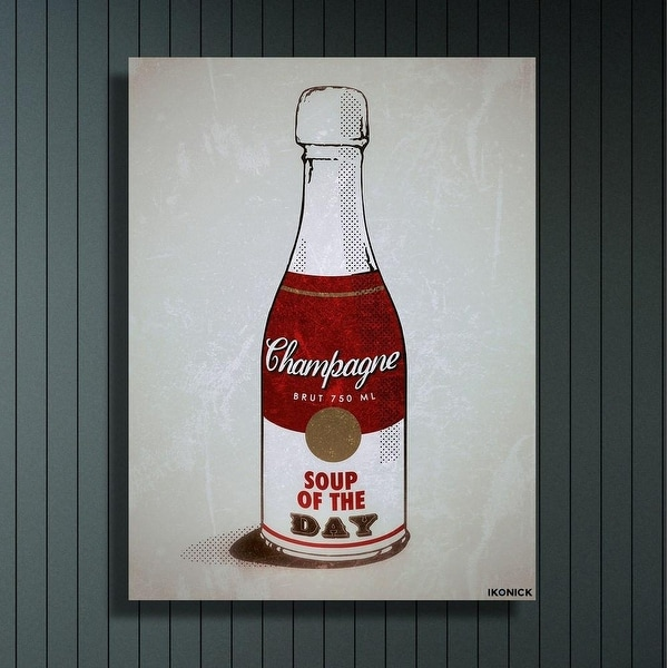 IKONICK Soup Of The Day Canvas Art