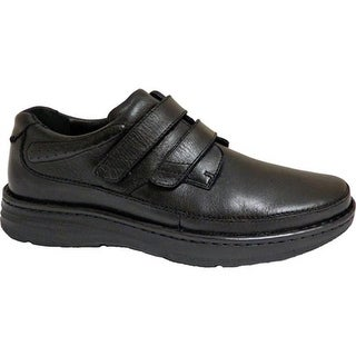 Drew Men's Mansfield Black Leather