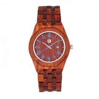 Earth Wood Baobab Men's Quartz Watch, Wood Band