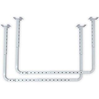 HyLoft 80843-10 Ceiling Storage Rack, White