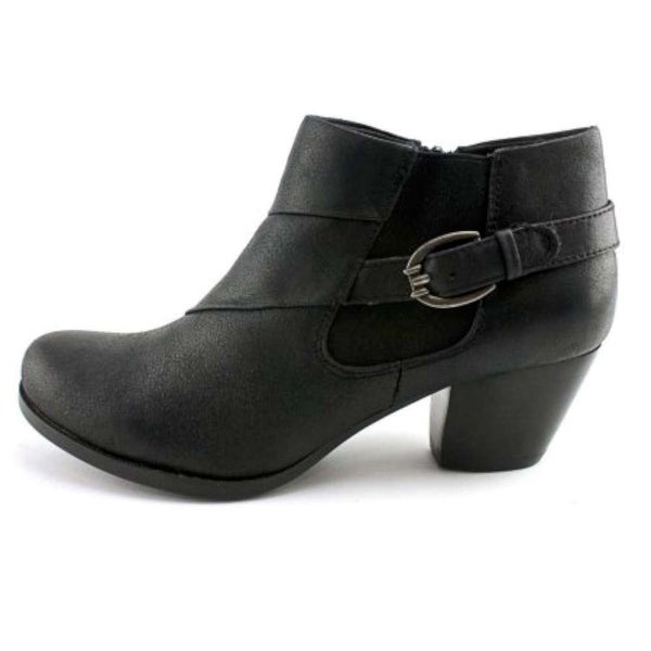 Bare Traps Womens Rowan Almond Toe Ankle Fashion Boots