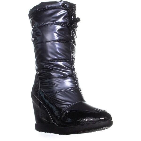 Shop Cougar Gander Wedge Winter Boots, Gunmetal - 7 us