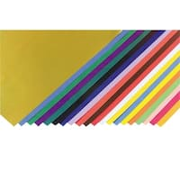 Fadeless Art Paper, 50 lb., 12 x 18 Inches, Multiple Colors, 40 Sheets