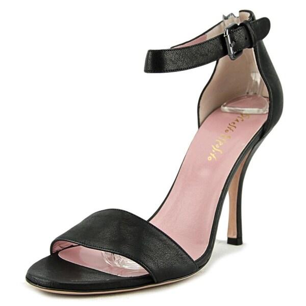Ernesto Esposito Dixan Women Black Sandals