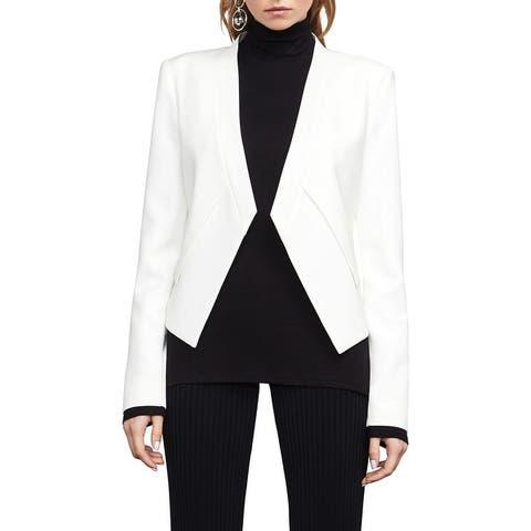 BCBG Max Azria Lloyd Women's Layered Open Front Blazer Jacket