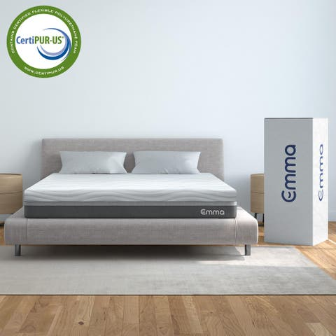 Emma 12-inch Visco-Elastic Memory Foam Mattress