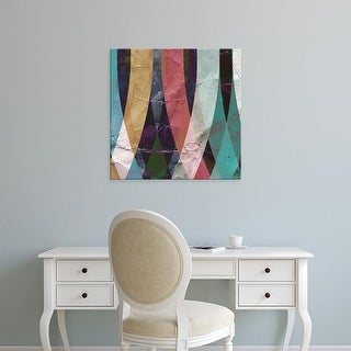 Easy Art Prints GraphINC Studio's 'Geometric Design 4' Premium Canvas Art