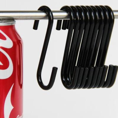 Wallniture Cucina S Hook Set for Hanging Kitchen Utensils, Pack of 10