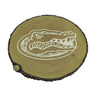 Florida Gators Glow In the Dark Tree Stump Stepping Stone - TAN