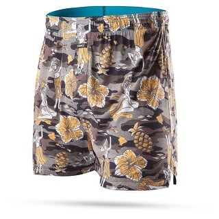 Stance Mens Hulaween Camo Boxers Underwear - Black